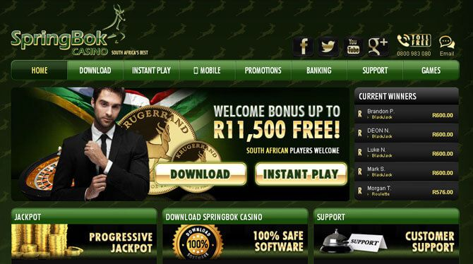 South african online mobile casinos