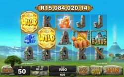 play jackpot giants with rands in South Africa